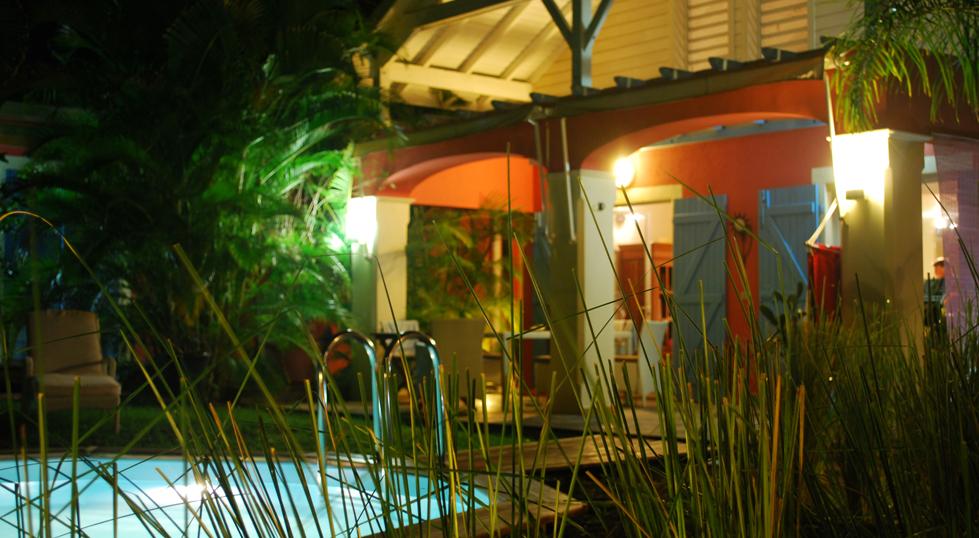 Location de villa saint fran ois en guadeloupe villa for Jardin des 4 epices marie galante