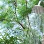 La douche extérieure de la Villa Désirade